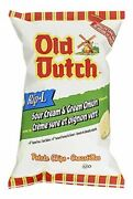 Old Dutch Rip L Chips Sour Cream And Green Onion, Large Bag {imported From Canada}