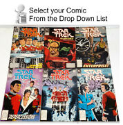 1989-1996 Star Trek Dc Series 2 Comic Book Collection- 80+ Issues— Your Choice