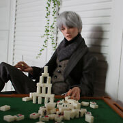 1/3 Bjd Sd Dolls Handsome Male Boy Resin Unpainted Doll +free Eyes + Face Makeup