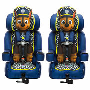 Kidsembrace Nickelodeon Paw Patrol Chase Harness Booster Car Seat 2 Pack