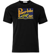 Powerlube Motor Oil - Graphic Cotton T Shirt Short And Long Sleeve