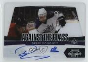 2010-11 Panini Playoff Contenders Against The Glass /50 Drew Doughty 14 Auto