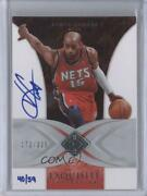2009-10 Exquisite Collection Buy Backs /59 Vince Carter 25 Auto