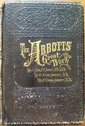 The Abbotand039s Great Work New Testament Dictionary Antique 1881 Bible Book 54 Maps