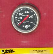2-5/8 Inch Mechanical Water Temperature Gauge Kit Autogage By Autometer 3431