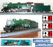 Rivarossi 9196 Steam Locomotive 4-6-2 Undecorated Southern-pacific Usa Ladder-n