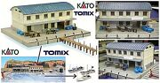 Kato By Tomix Shed Harbour With Market Of Fish And Pier Of Attracco Ladder-n