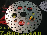 Ultima 10 Satin Finish S.s. Rotor/ Front Fx And Fxr 77-83 Dual Disc Oem 44137-77a