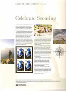 897 45c Forever Celebrate Girl Scouting 4691 Usps Commemorative Stamp Panel