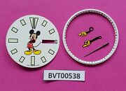Seiko Mickey Mouse Dial Gloved Hands Minute Track Seiko 6309 7290 Watch Bvt00538