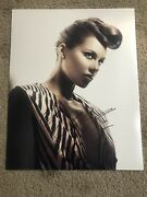 Alicia Keys Autographed 16x20 Photo Sexy Unplugged Girl On Fire The Voice
