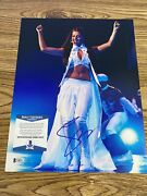Selena Gomez Autographed 11x14 Photo Stars Dance Revival For You Exact Proof Bas