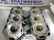Evinrude Etec 225 Hp Ho 2005 Cylinder Heads Pair Used