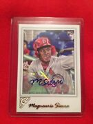 2017 Topps Gallery Magneuris Sierra Auto Rookie Cardinals Rare