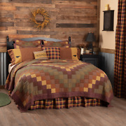 Vhc Heritage Farms Primitive Quilt Your Choice Size And Accessories Stars, Crow