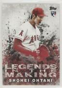 2018 Topps Update Legends In The Making Shohei Ohtani Litm-21 Rookie