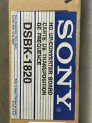 Sony Dsbk1820 Hd Up Converter For Dsr-1800a