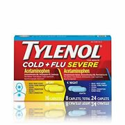 Tylenol Day And Night Cold And Flu Capsule 24 Count Per Pack - 48 Per Case.