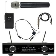 Cad Gxld2-hb Digital Dual Channel Handheld Headset Mics And Guitar Cable Wireless