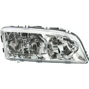 Headlight For 2003-2004 Volvo C70 V70 Right Clear Lens With Bulb