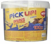 100 Pieces Pick Up Minis Leibniz Chocolate Bars Candy From Germany Big Box