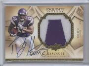 2009 Exquisite Collection Signature /225 Percy Harvin 162 Rpa Rookie Patch Auto
