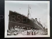 Cunard White Star Line Rms Franconia Runs Aground Collection Of 8 Press Photos