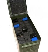 Precut Closed Cell Foam Kit Fits 50cal 50 Cal Caliber Ammo Can For 24 Magazines