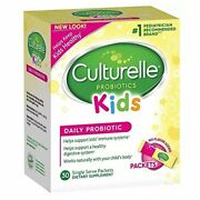 Culturelle Kids Packets Daily Probiotic Supplement 30 Each Pack Of 5