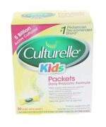 Culturelle Kids Packets Daily Probiotic Supplement 30 Each Pack Of 4