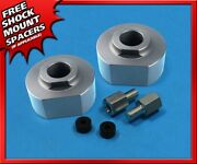 Fits 1983-1996 Ford Ranger 2and039and039 Silver Front Lift Billet 2wd 3/4and039and039 Stud Extenders