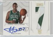 2012 National Treasures Jersey Number Prime /25 Jared Sullinger 171 Rookie Auto