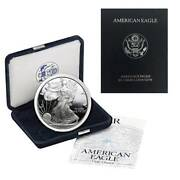 2000-p American Silver Eagle Proof Ogp And Papers
