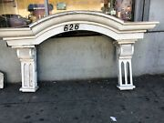 Arched Door Awning