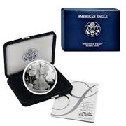 2007-w American Silver Eagle Proof Ogp And Papers