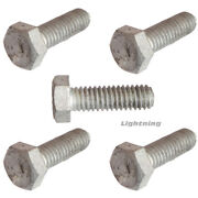 Hex Cap Screw Hot Dipped Galvanized Steel Bolts W/nuts 3/4-10x6 Qty 1000