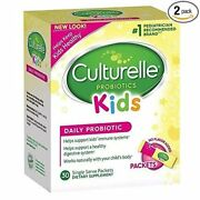 Culturelle Kids Packets Daily Probiotic Supplement 30 Each Pack Of 2
