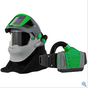 Welding Respirator W/ Fire-rated Shoulder Cape, Breathing Tube, Px4 Air® Papr
