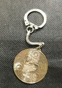 Scorpion And Cross With Asian Writing Keychain  Zz595udc