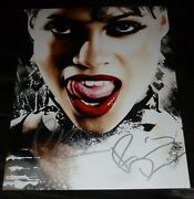Rosario Dawson And Robert Rodriguez Authentic Hand-signed Sin City 11x14 Photo