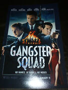 Emma Stone And Robert Patrick +2 Hand-signed Gangster Squad 11x17 Photo Proof