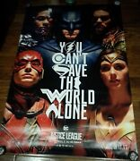 Justice League Gal Gadot Alex Ross 4and039x6and039 Bus Shelter Poster/banner 48x72