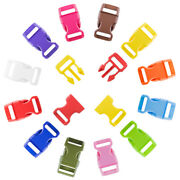 5/8 Inch Side Release Buckles By Paracord Planet In Multiple Colors And Pack Sizes