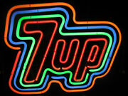 New 7up Neon Sign Collectible Rare Find