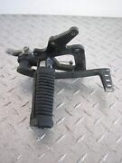 2006 06 Suzuki Gs500fk Gs500 Gs 500 Fk Right Foot Peg And Brake Pedal
