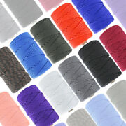 Commercial Grade 550 Mil Spec Paracord Type Iii 7 Strand Parachute Cord - Usa