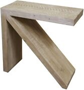 30 T Arrow Console Table Hand Crafted Reclaimed Douglas Fir Contemporary Design