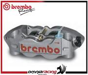Brembo Racing Cnc P4 32/36 108mm Pitch Monoblock Radial Caliper Sx Titanium
