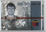2006-07 Itg Between The Pipes Game-used Silver Emblem Ilya Bryzgalov Gue-58