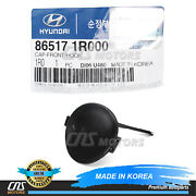 Genuine Front Bumper Tow Eye Cap Cover For 2012-2017 Hyundai Accent 865171r000